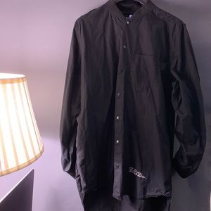 Men's Long length dress shirt